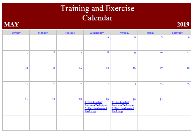 calendar test